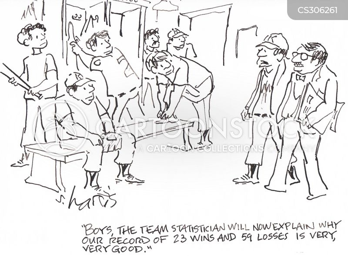 sports team cartoon