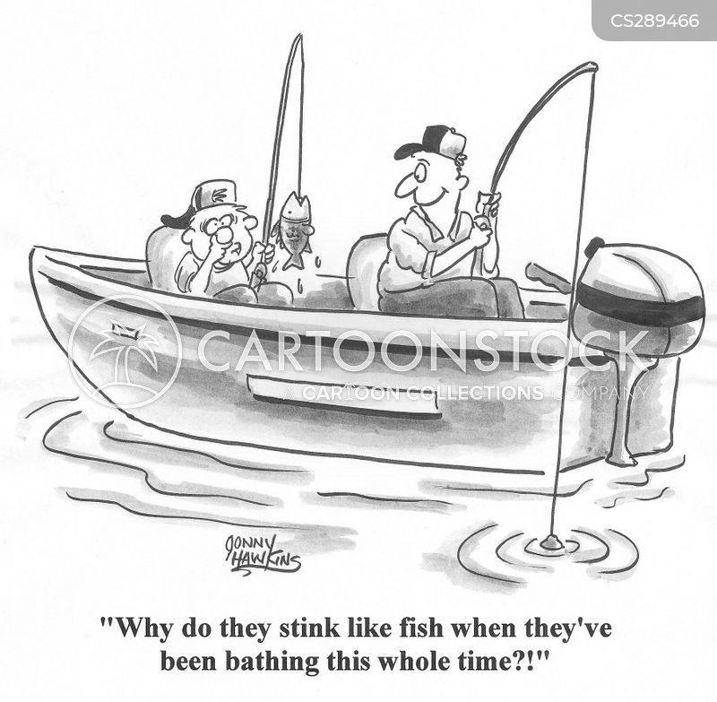 Fishy Smell Cartoons and Comics - funny pictures from CartoonStock