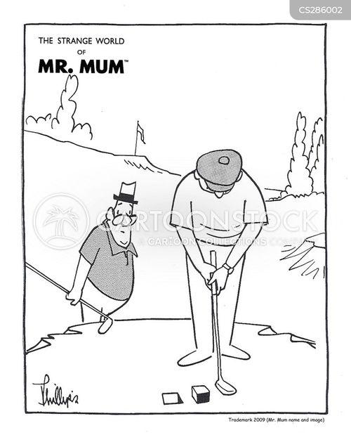 strange world of mr mum cartoon