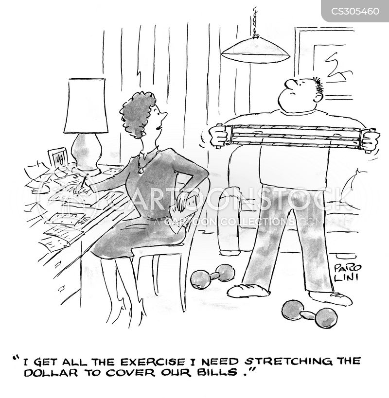 Stretching The Dollar Cartoons And Comics Funny Pictures From Cartoonstock