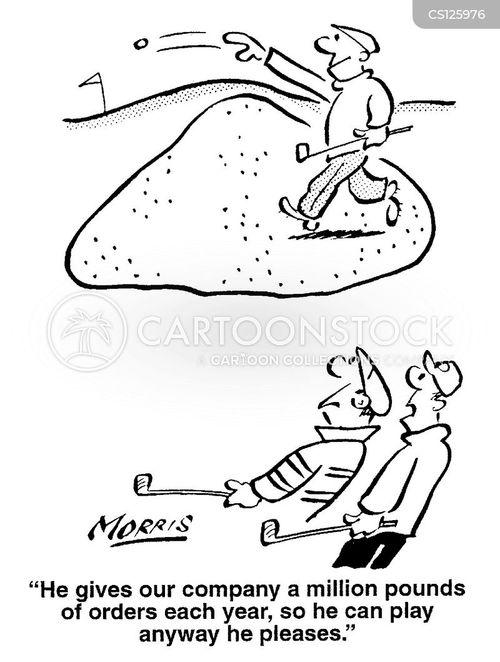 deferential cartoon