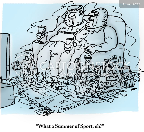 summer of sport cartoon