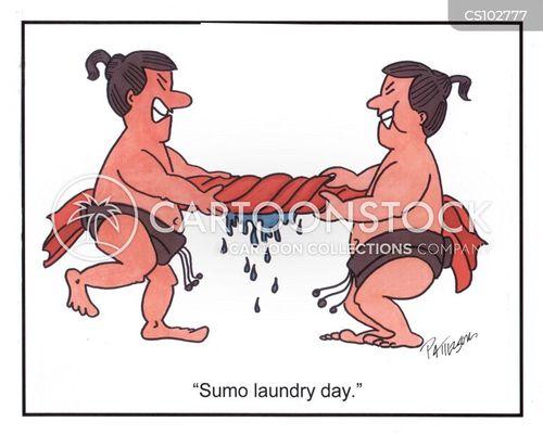 rinse cartoon