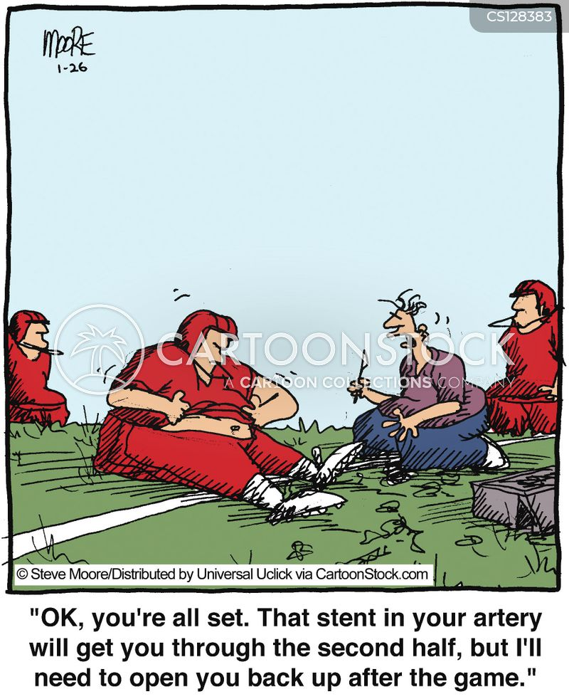 stents cartoon