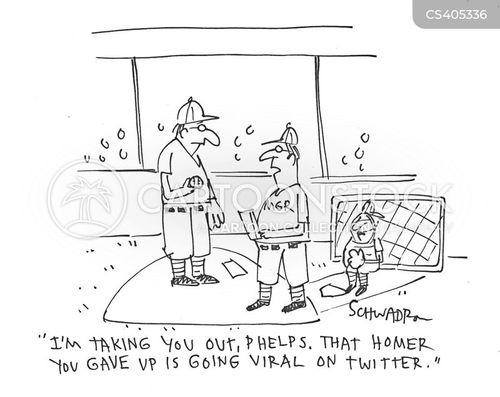 home run cartoon