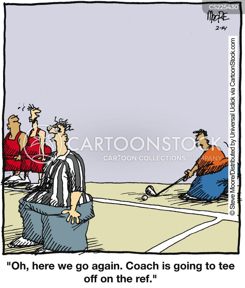 bad calls cartoon