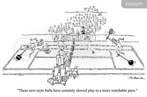 slower cartoon