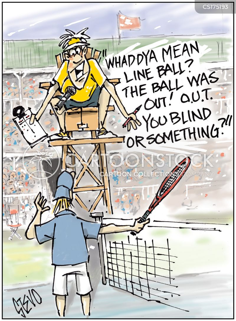 tennis tournaments cartoon