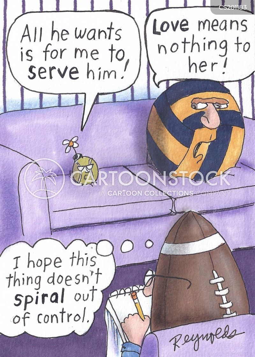 tennis balls cartoon
