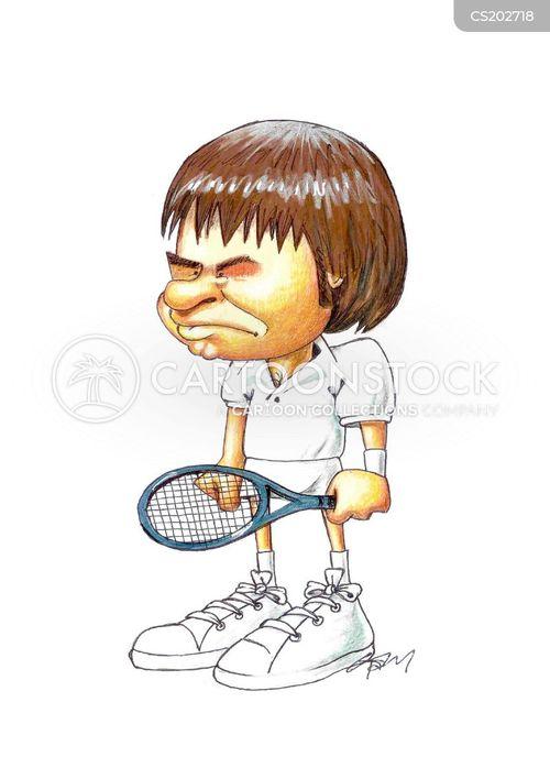 sporting hero cartoon
