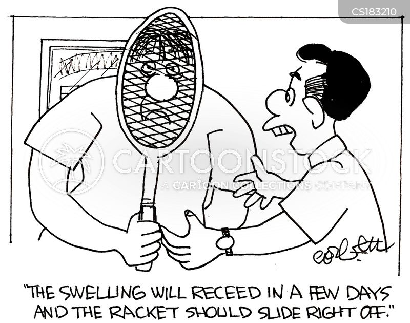 Tennis Racket cartoons, Tennis Racket cartoon, funny, Tennis Racket picture, Tennis Racket pictures, Tennis Racket image, Tennis Racket images, Tennis Racket illustration, Tennis Racket illustrations