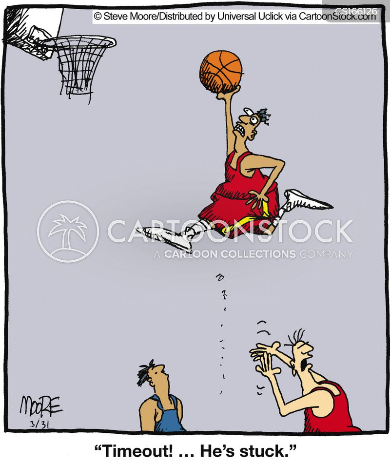 sports injury cartoon