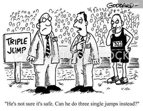athletics tournament cartoon