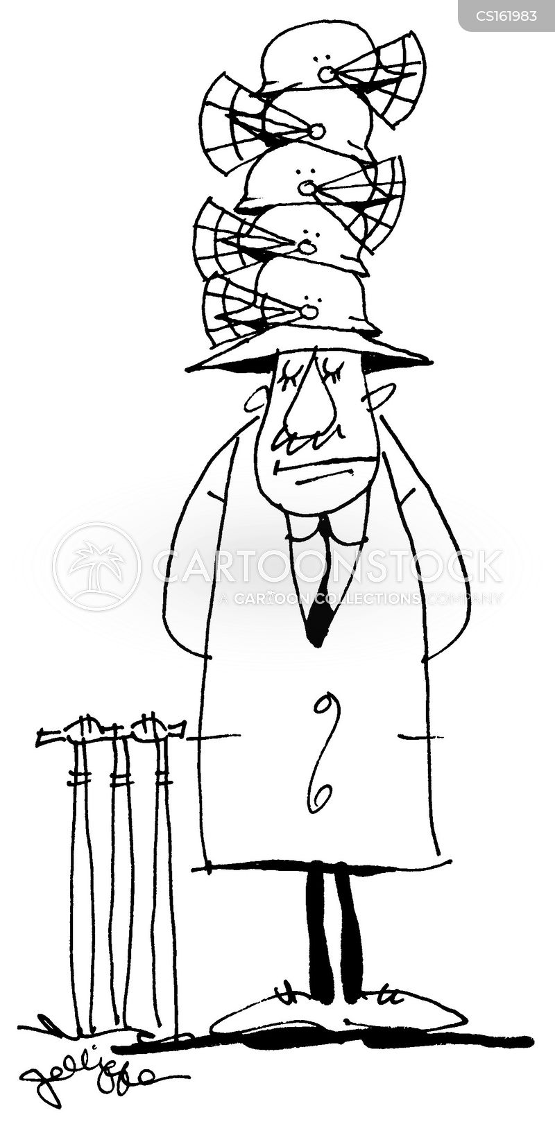 hat stand cartoon