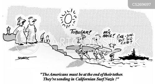 californian cartoon