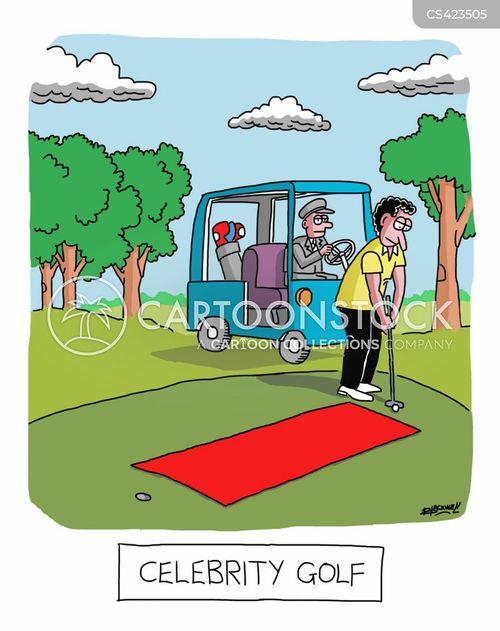 red carpets cartoon