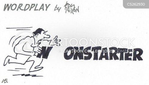 nonstarters cartoon