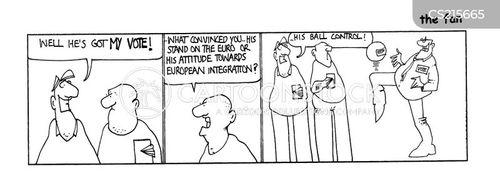 stance cartoon