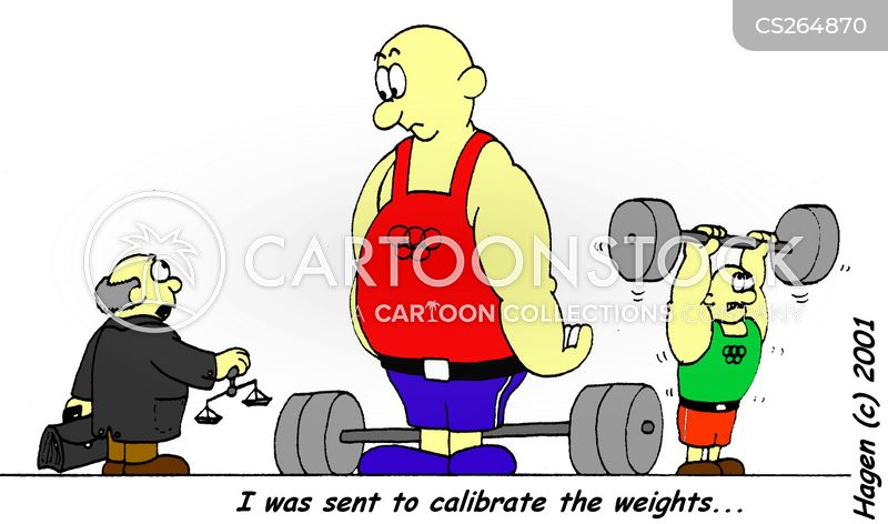 calibrate cartoon