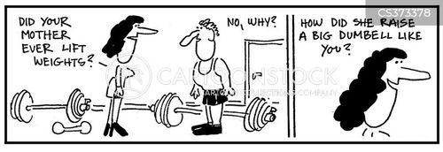muscled cartoon