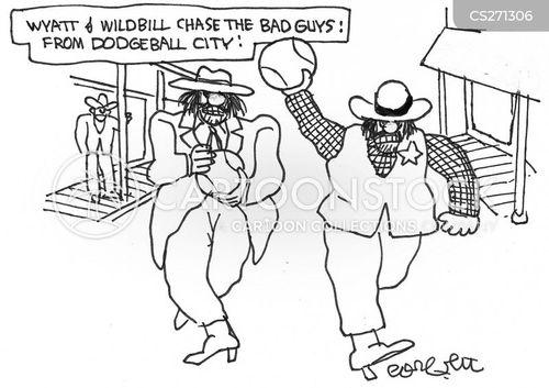 dodgeball cartoon