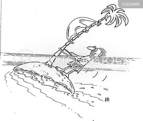 wind sail cartoon