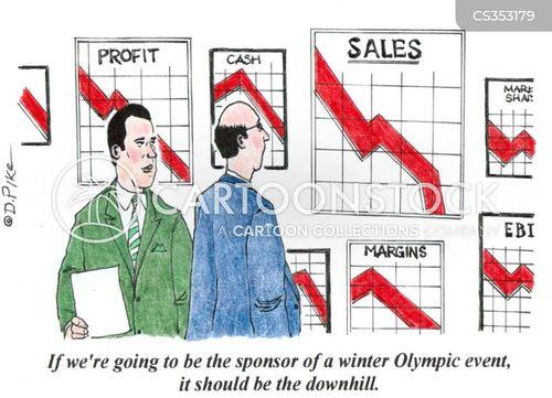 winter olympics cartoon