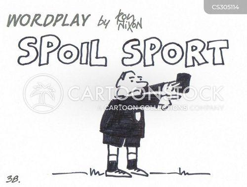 spoil sports cartoon