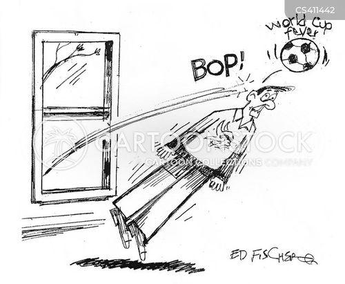 world cup fever cartoon