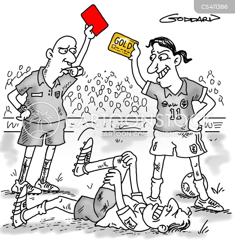 gold card cartoon