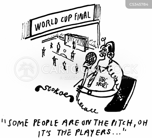 pitch invasion cartoon
