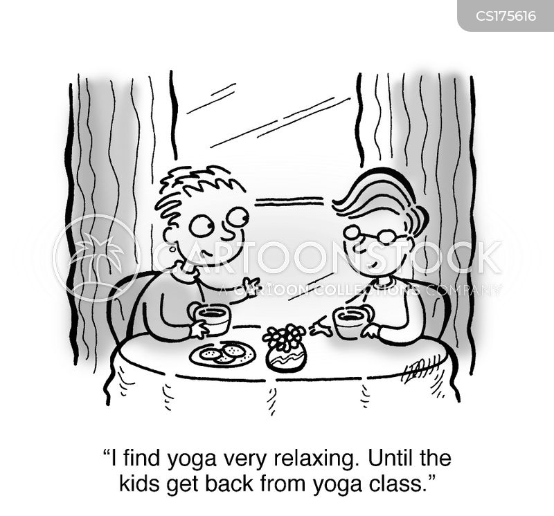 chill out cartoon
