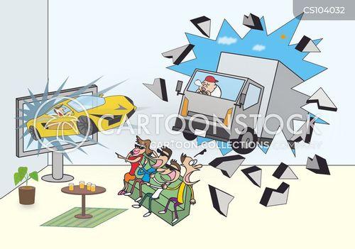 three dimensional cartoon