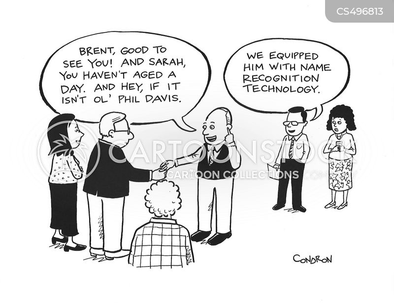 name recognition cartoon