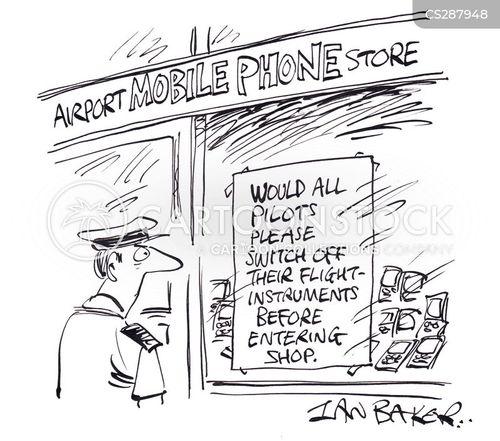 interference cartoon