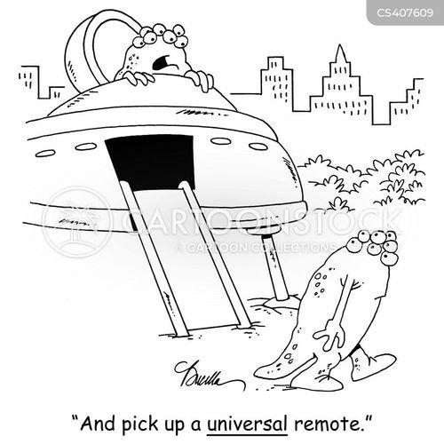 universal remotes cartoon