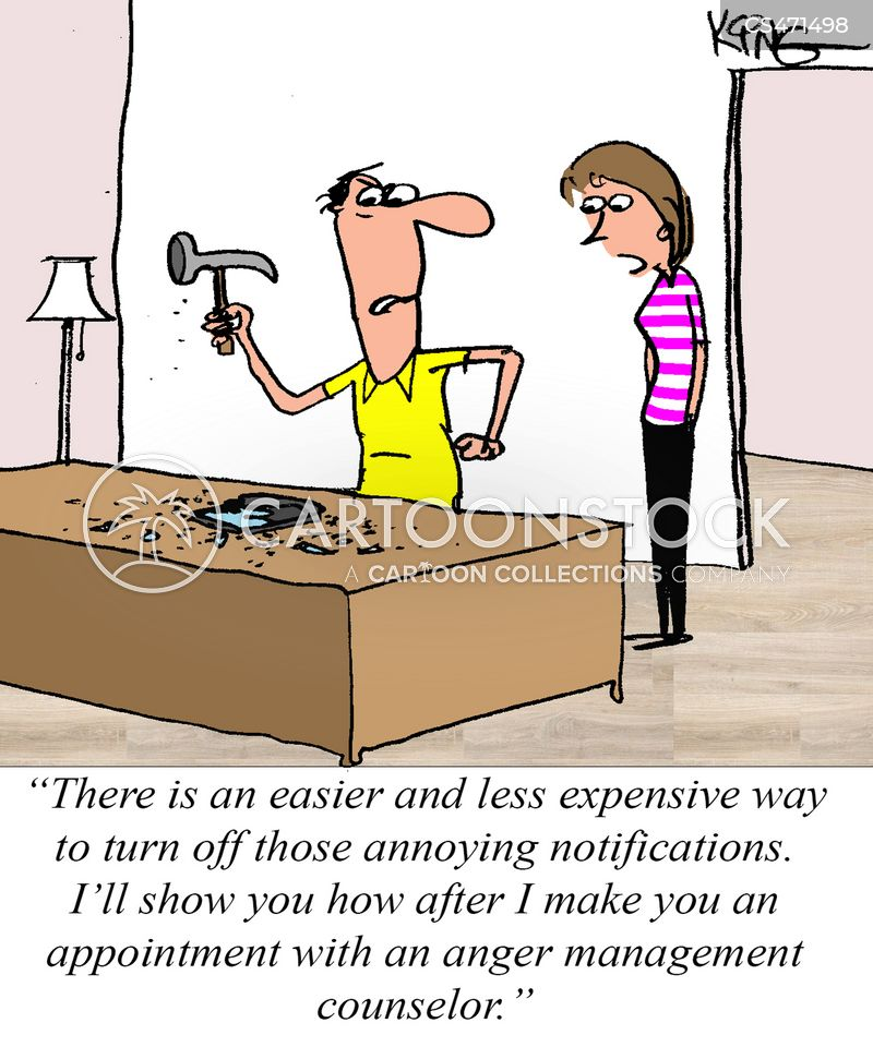 Anger Management Cartoons And Comics Funny Pictures From Cartoonstock