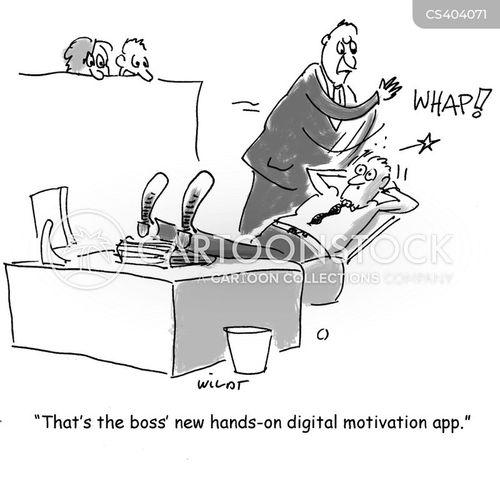 hands-on cartoon