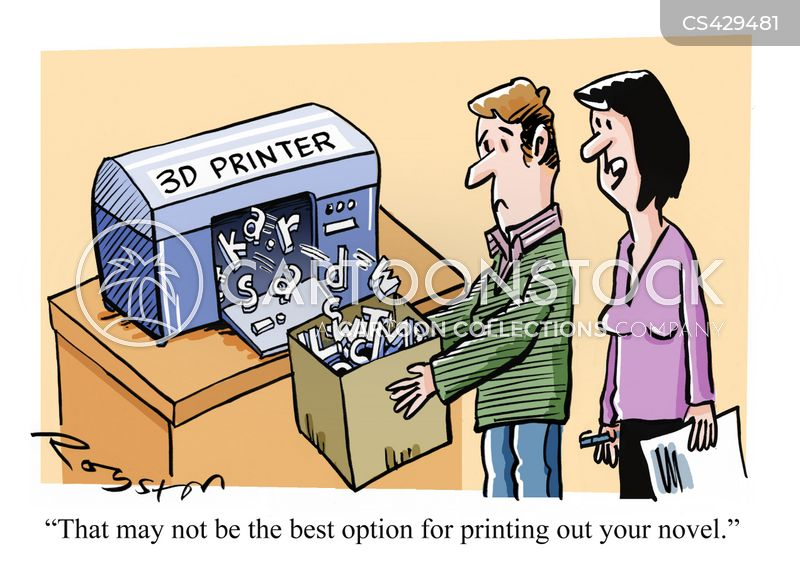 3d Print Cartoons and Comics - funny pictures from CartoonStock