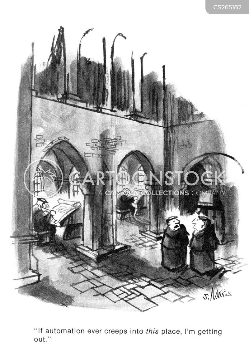 monestry cartoon