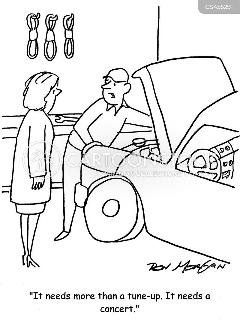 tune-ups cartoon