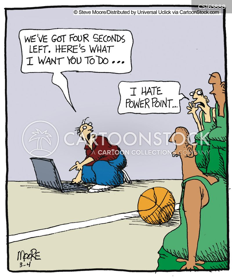 Basketball Game Cartoons And Comics Funny Pictures From