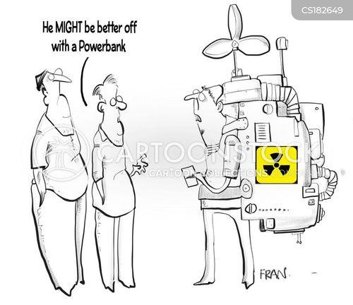battery cartoon