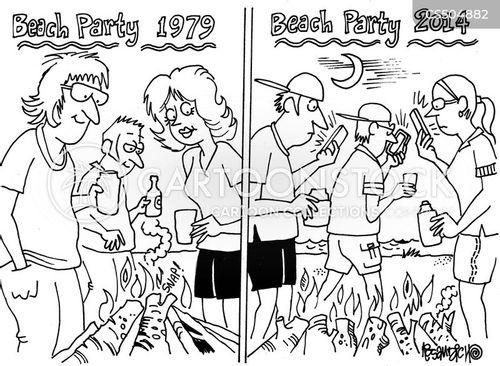 tech dependency cartoon
