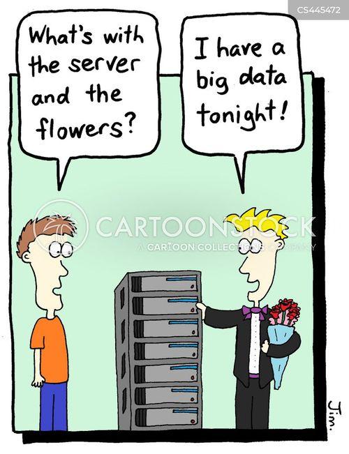 computer server cartoon
