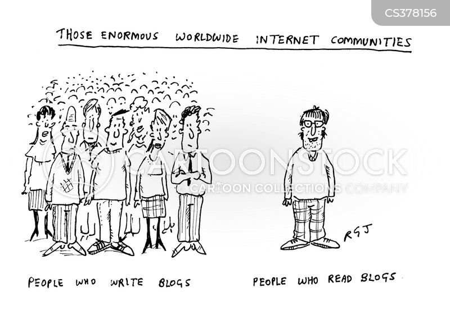 internet addict cartoon