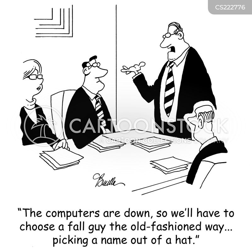 chairman of the board cartoon