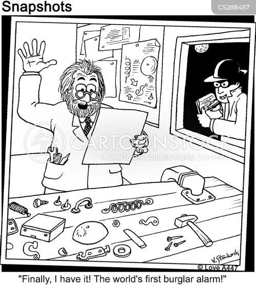 invetors cartoon