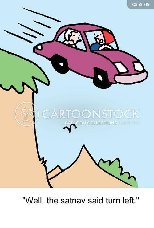 wrong turn cartoon