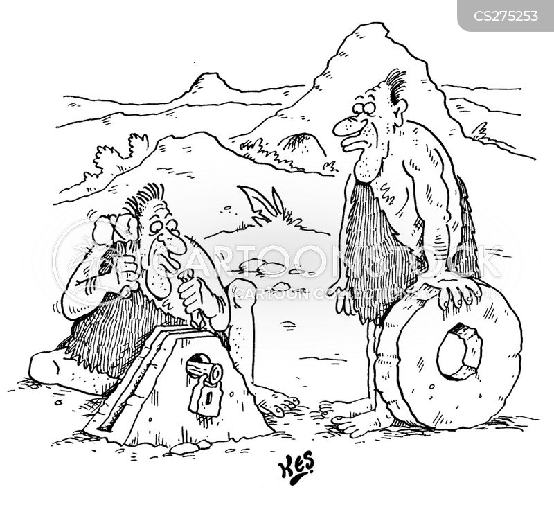 wheel clamper cartoon